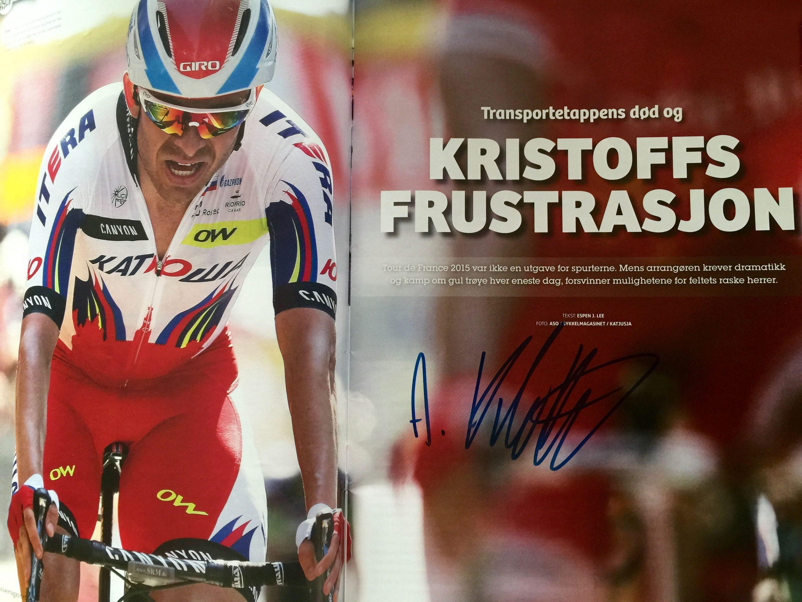 Vinn Kristoff-signert utgave
