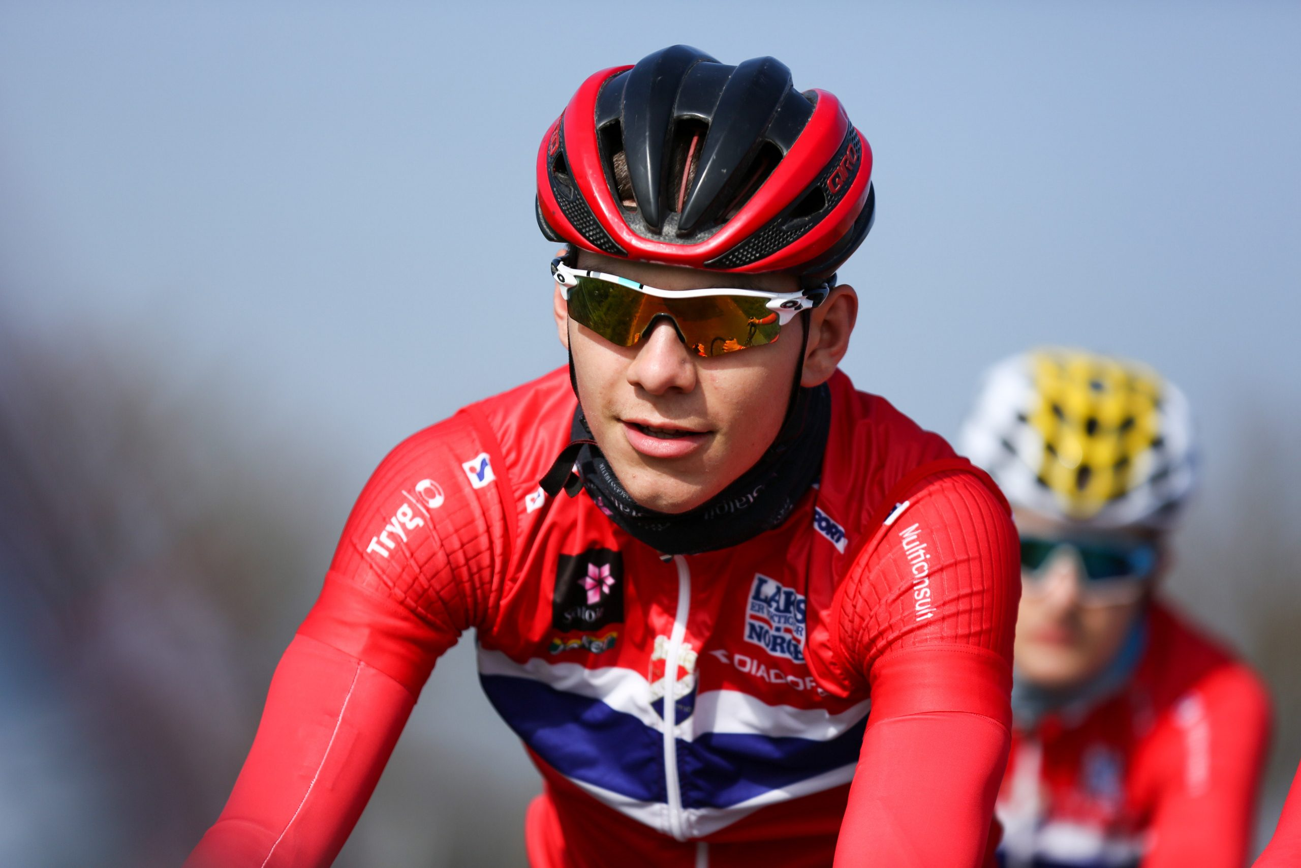 Slik ble han topp fem i Roubaix