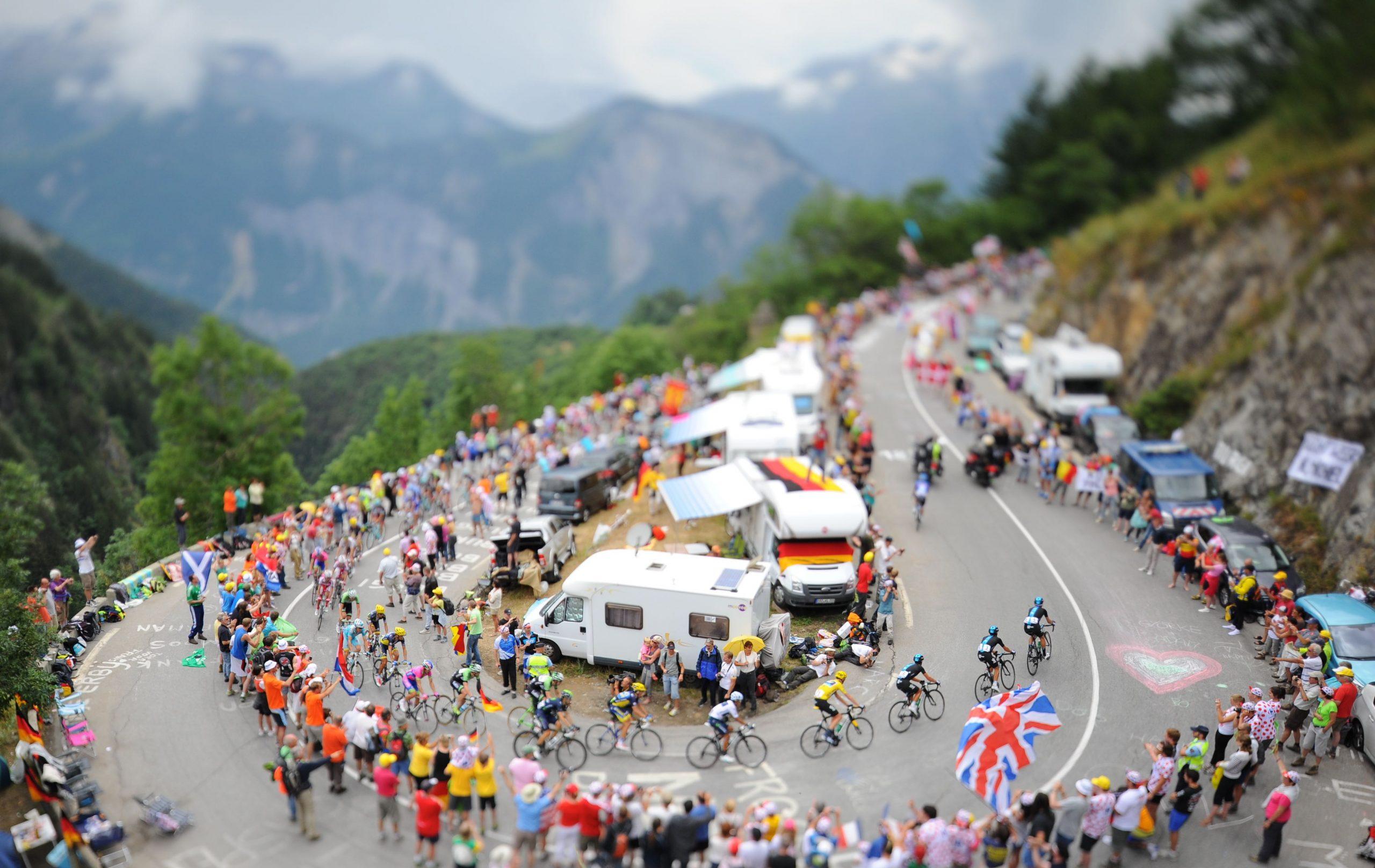 Tourens vinner kåres på Alpe d'Huez