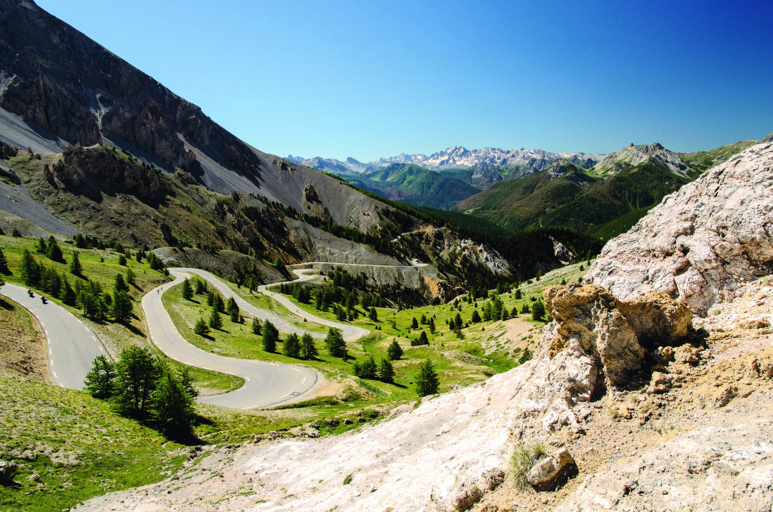 Col d'Izoard: På toppen av Touren