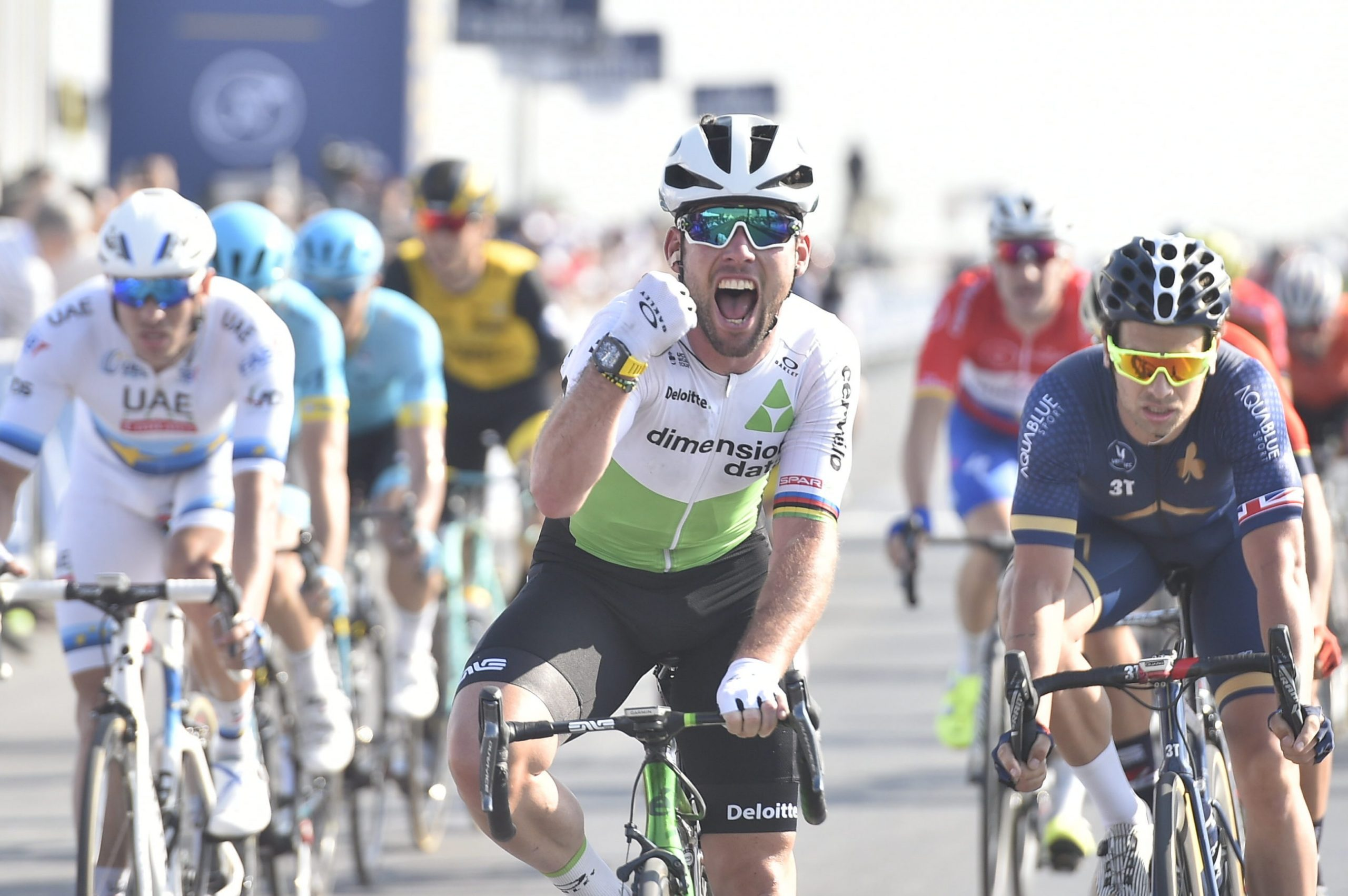 Cavendish sykler Tour of Norway
