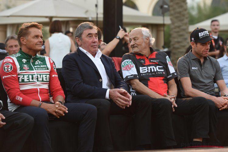 Merckx sendt til sykehus med alvorlig hodeskade etter fall
