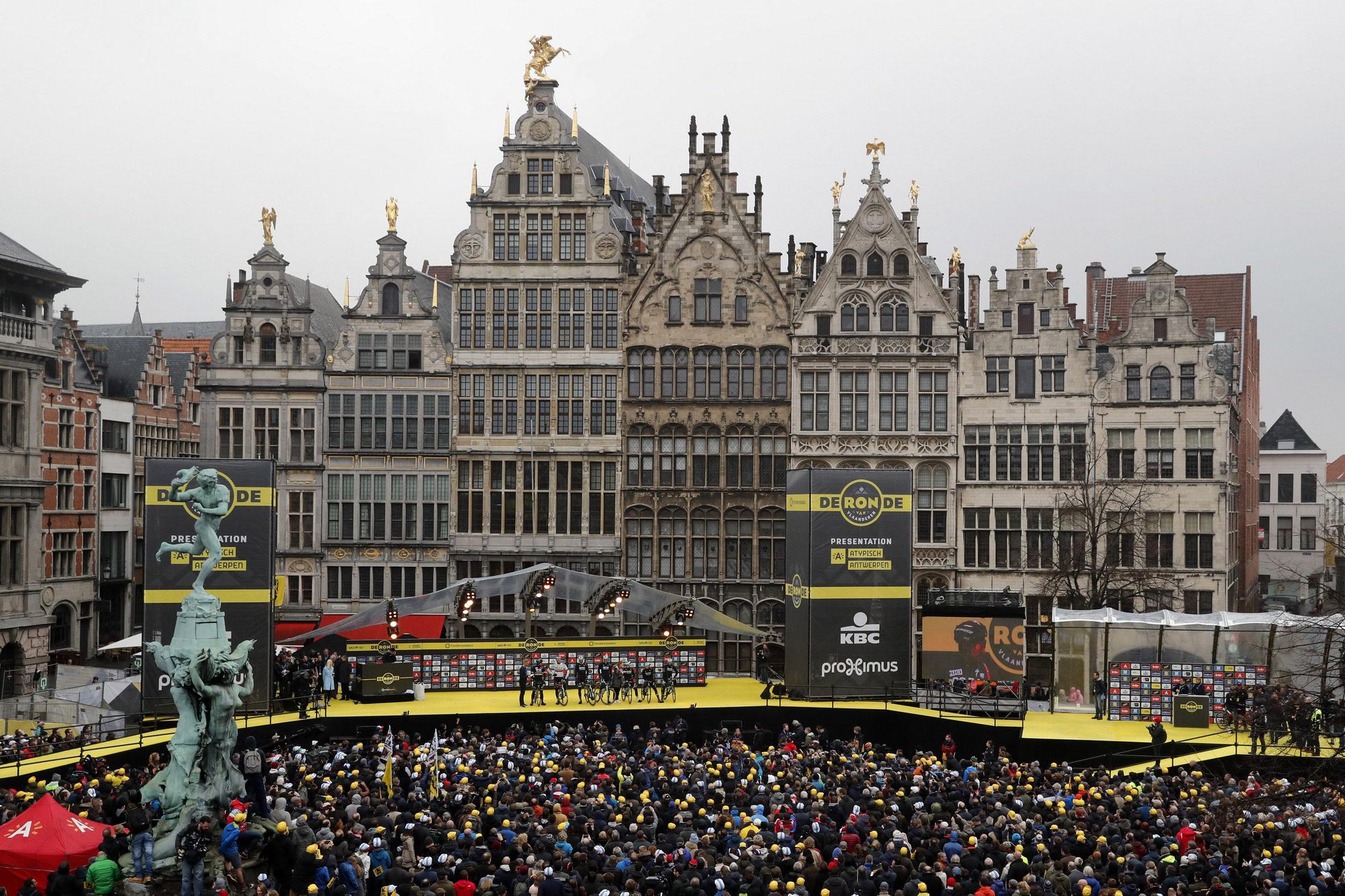 Roubaix, Flandern og Liege utsatt