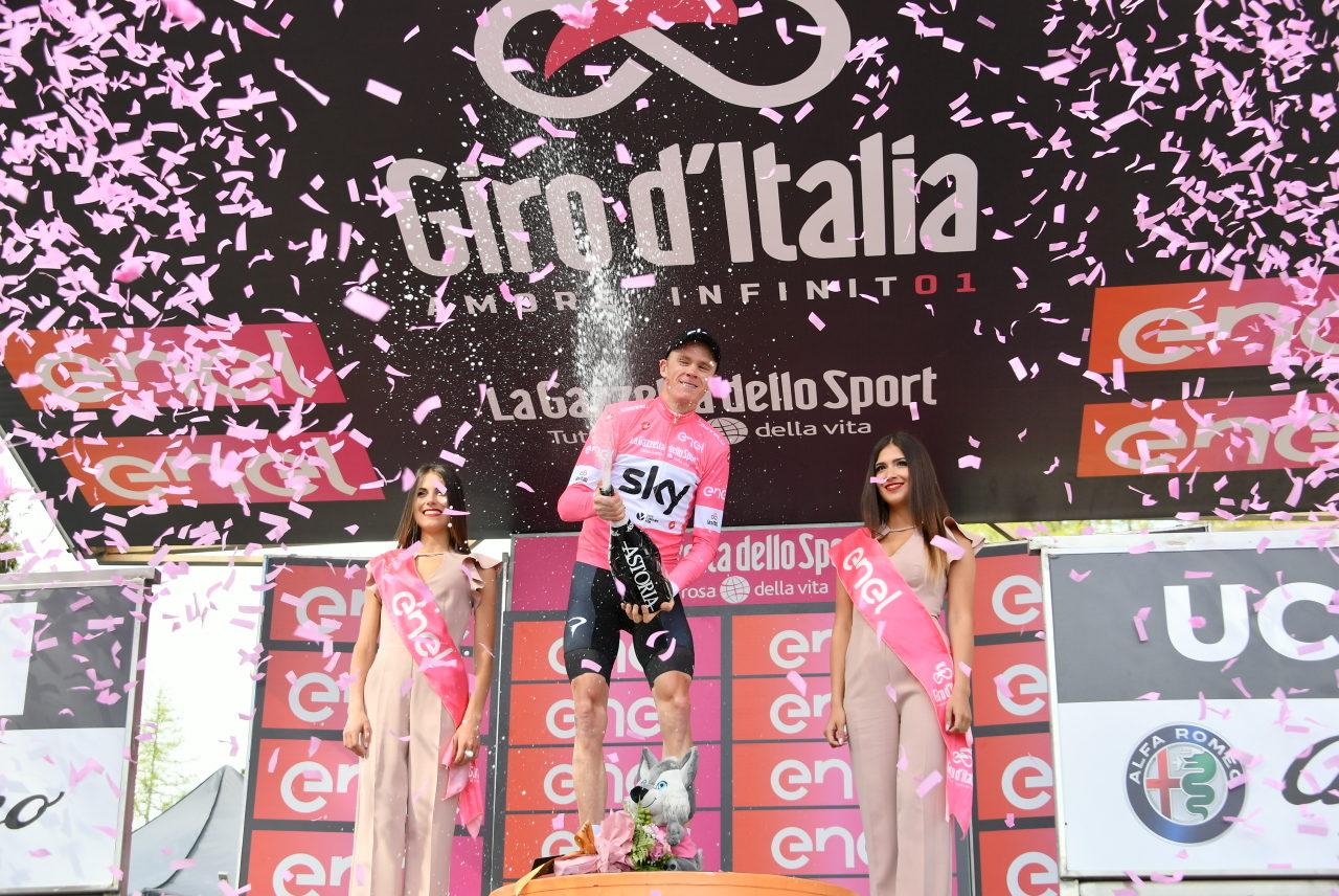 Froome tok rosa trøye etter utrolig soloseier i Giroen