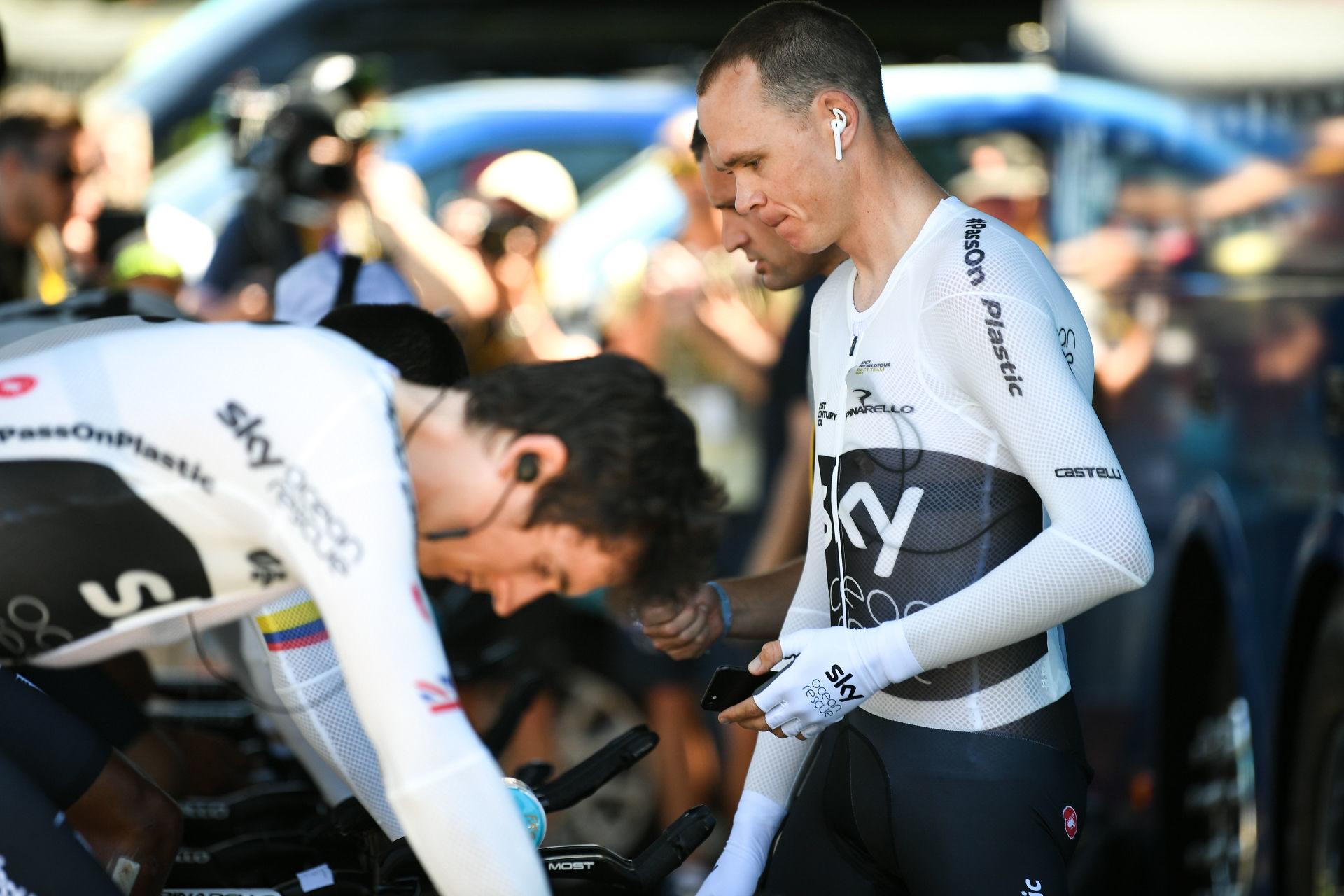 Froome og Thomas utelatt fra Tour de France-troppen