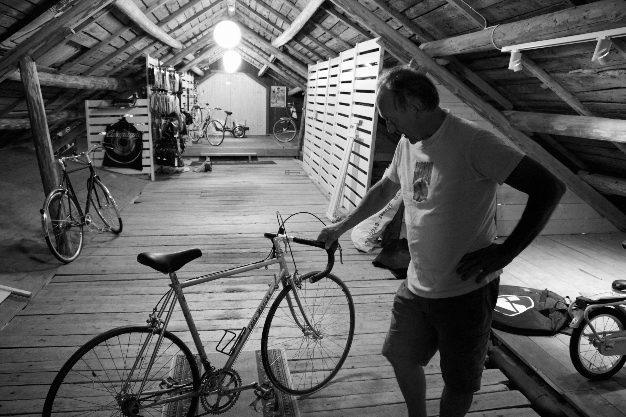 «Jeg var aldri noe sykkeltalent»