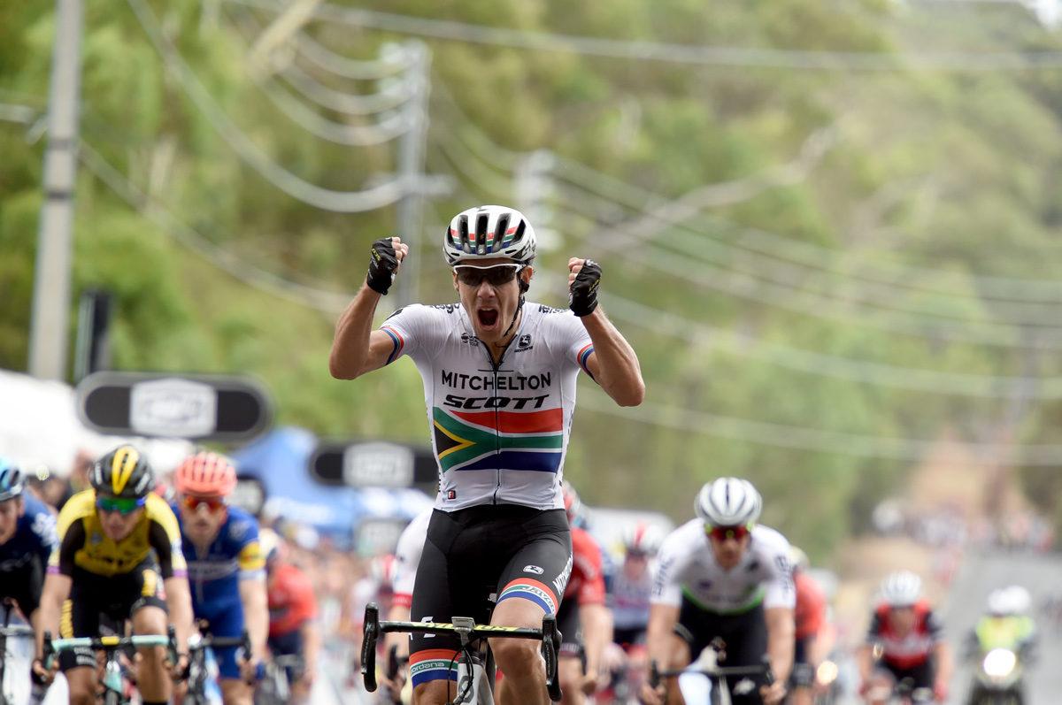 Impey vant etappen, men Bevin beholder ledelsen i Down Under