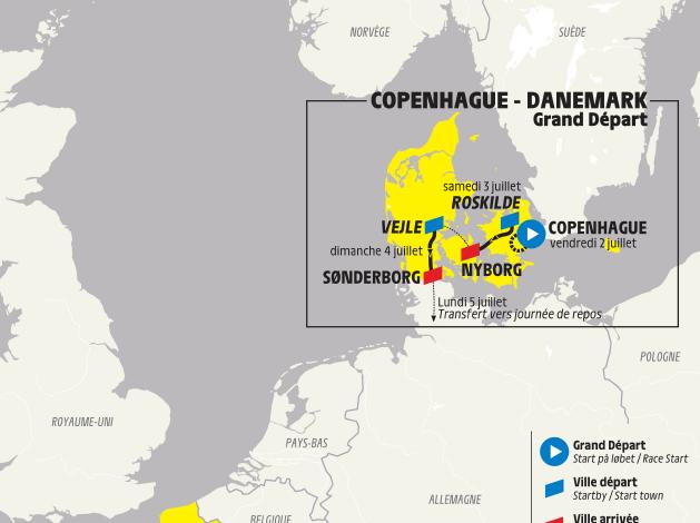 Slik blir Tour de France-åpningen i Danmark