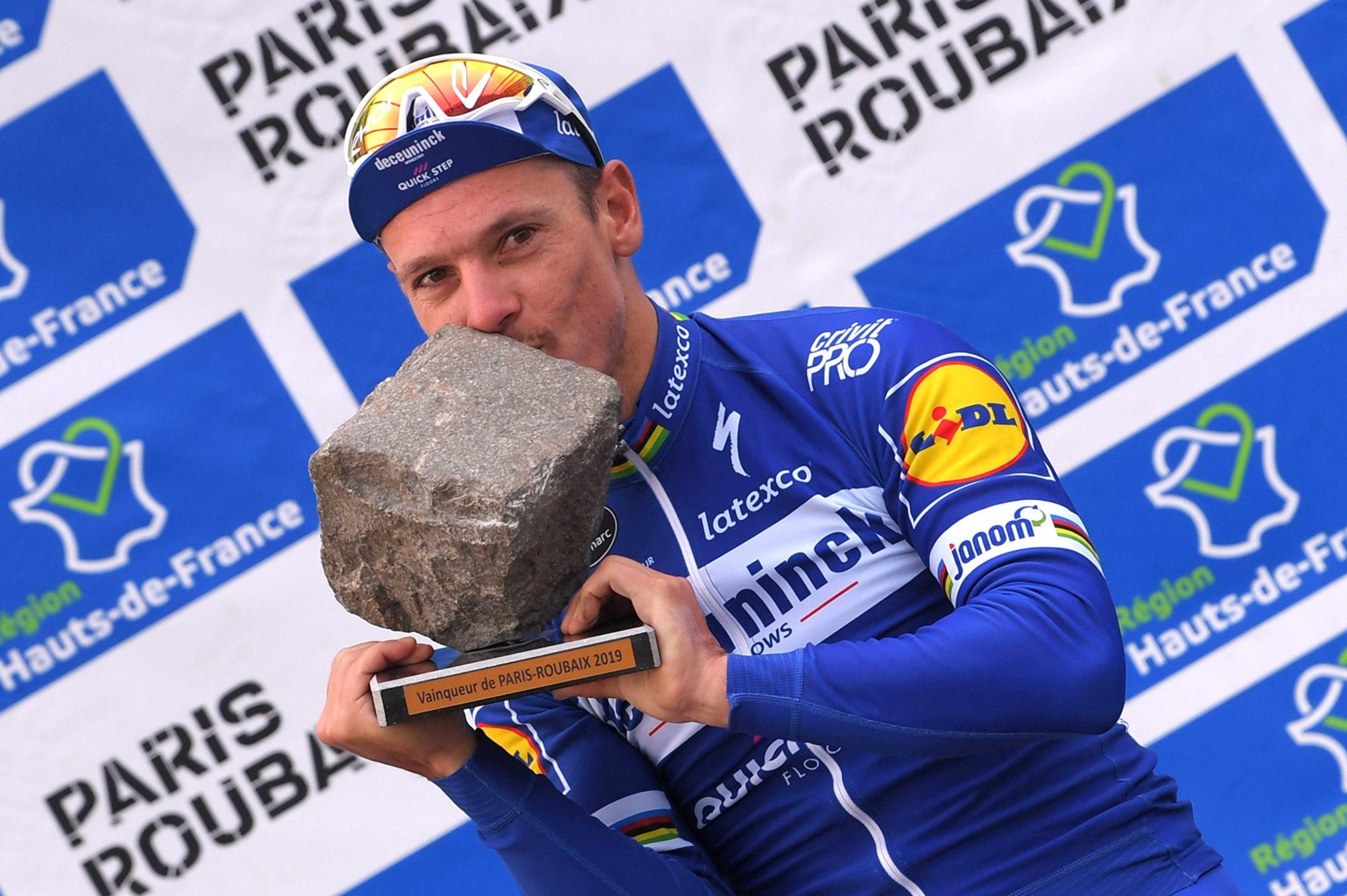 Historisk QuickStep-dag i Paris-Roubaix