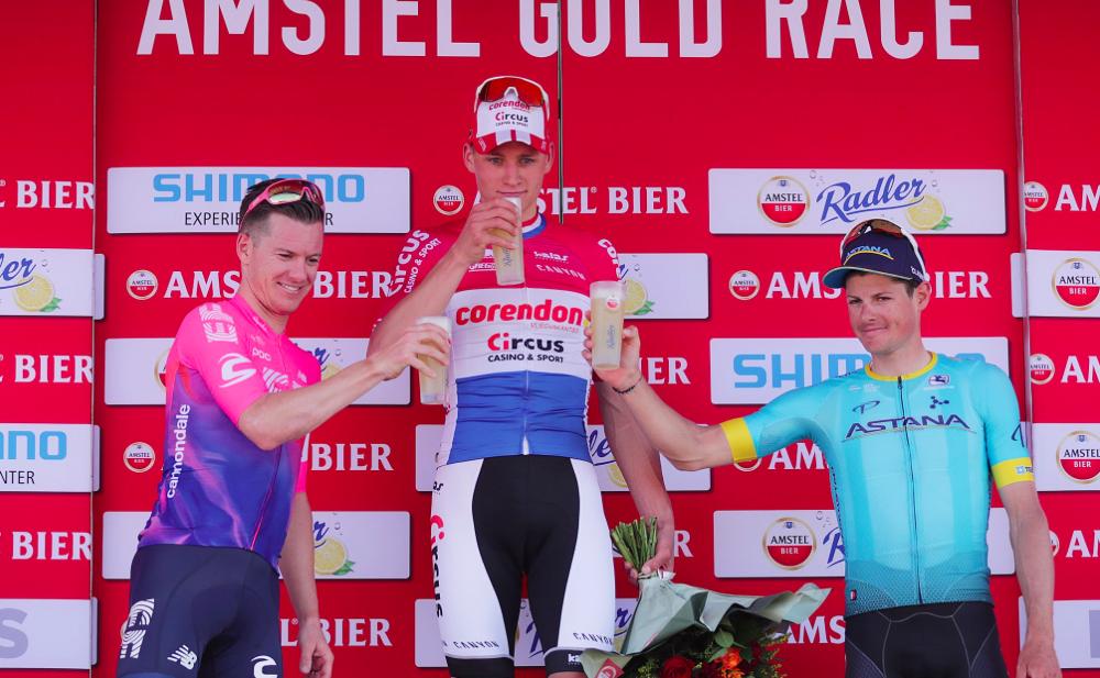 Van der Poel vant Amstel Gold Race etter utrolig opphenting