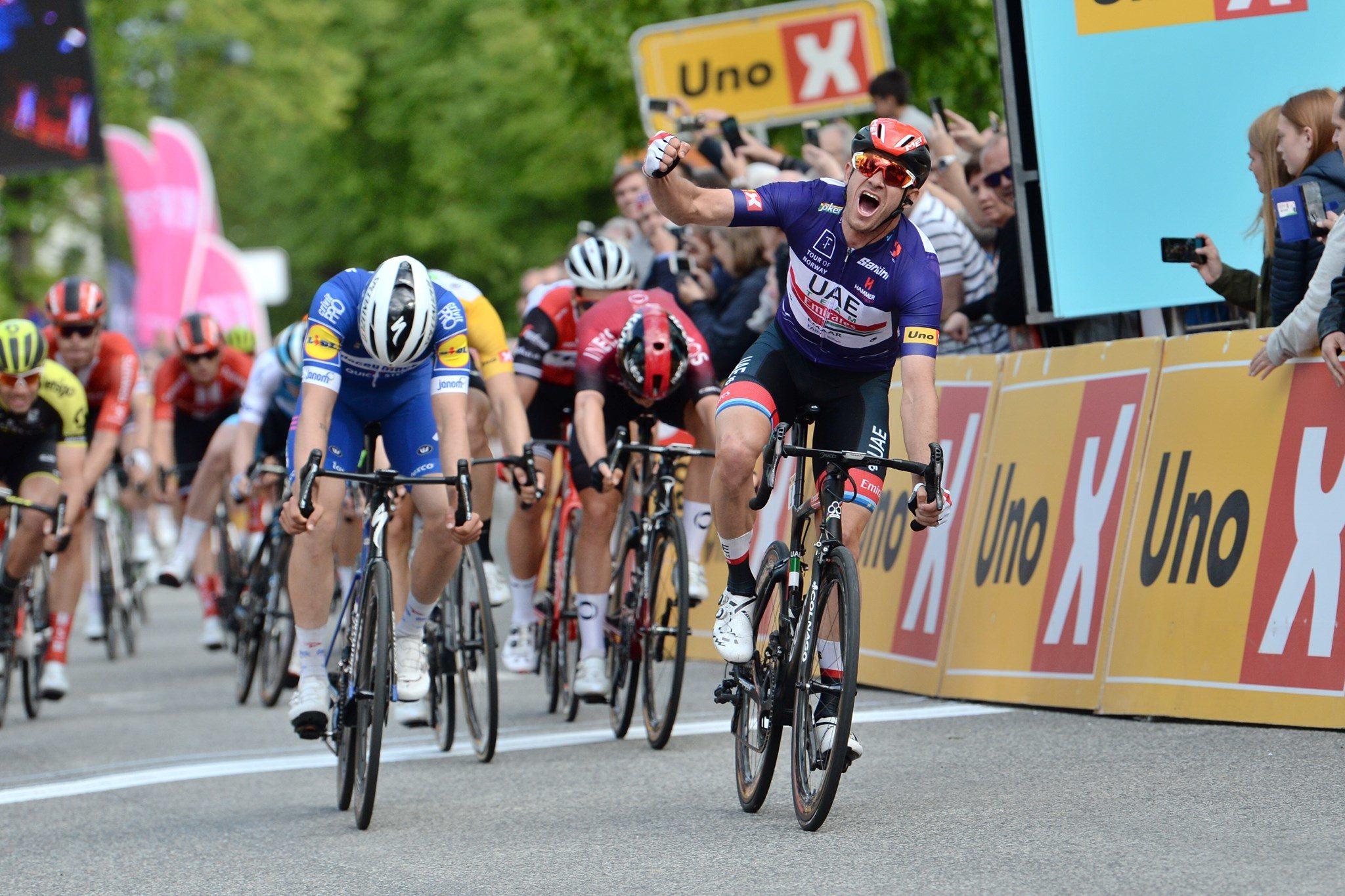 Kristoff med etterlengtet etappeseier i Tour of Norway