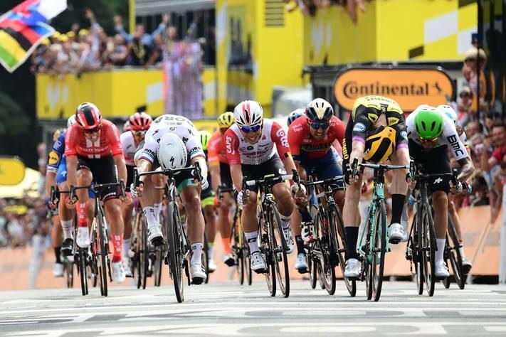 Spurt-skrell i Tour de France-åpningen