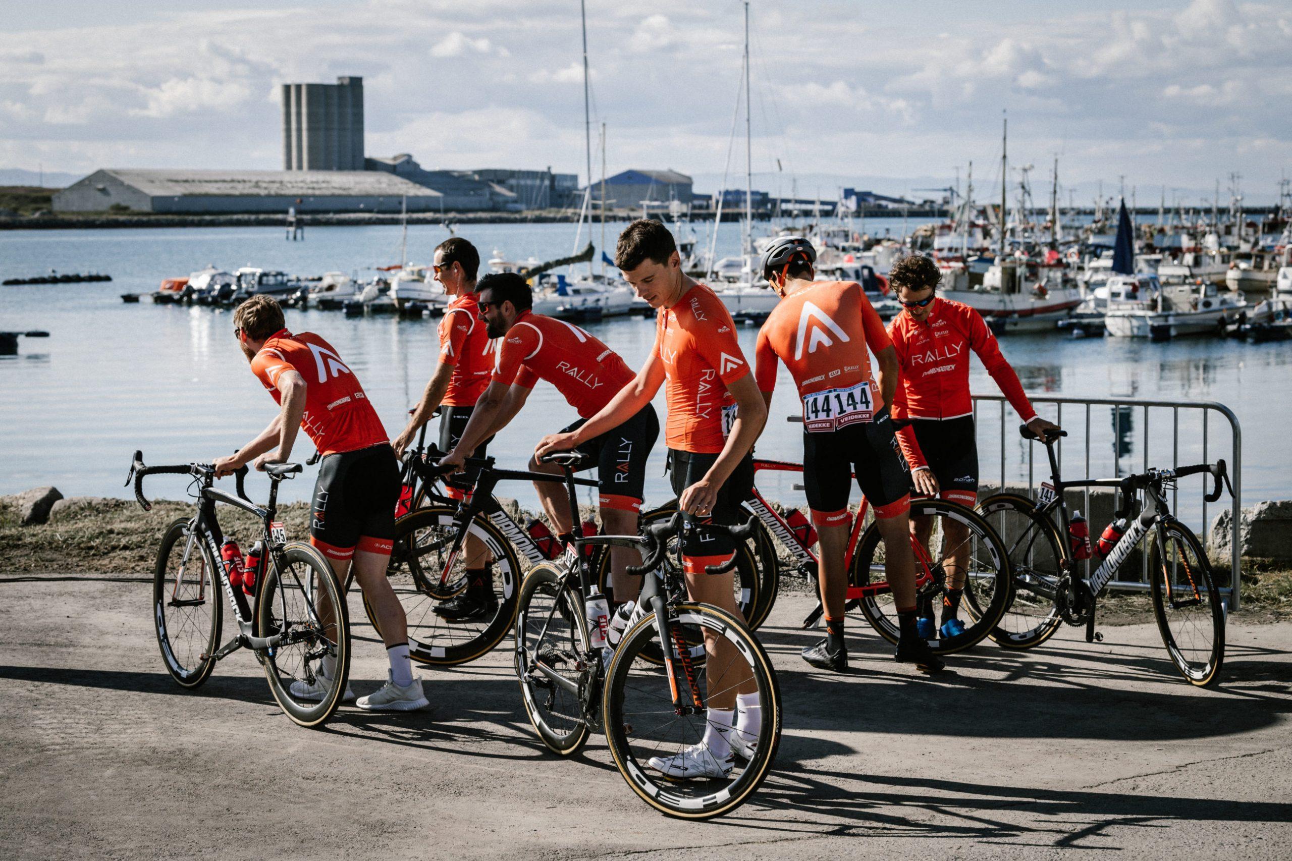 Ishavsfiskerne dro ut for å skaffe sykkelslange