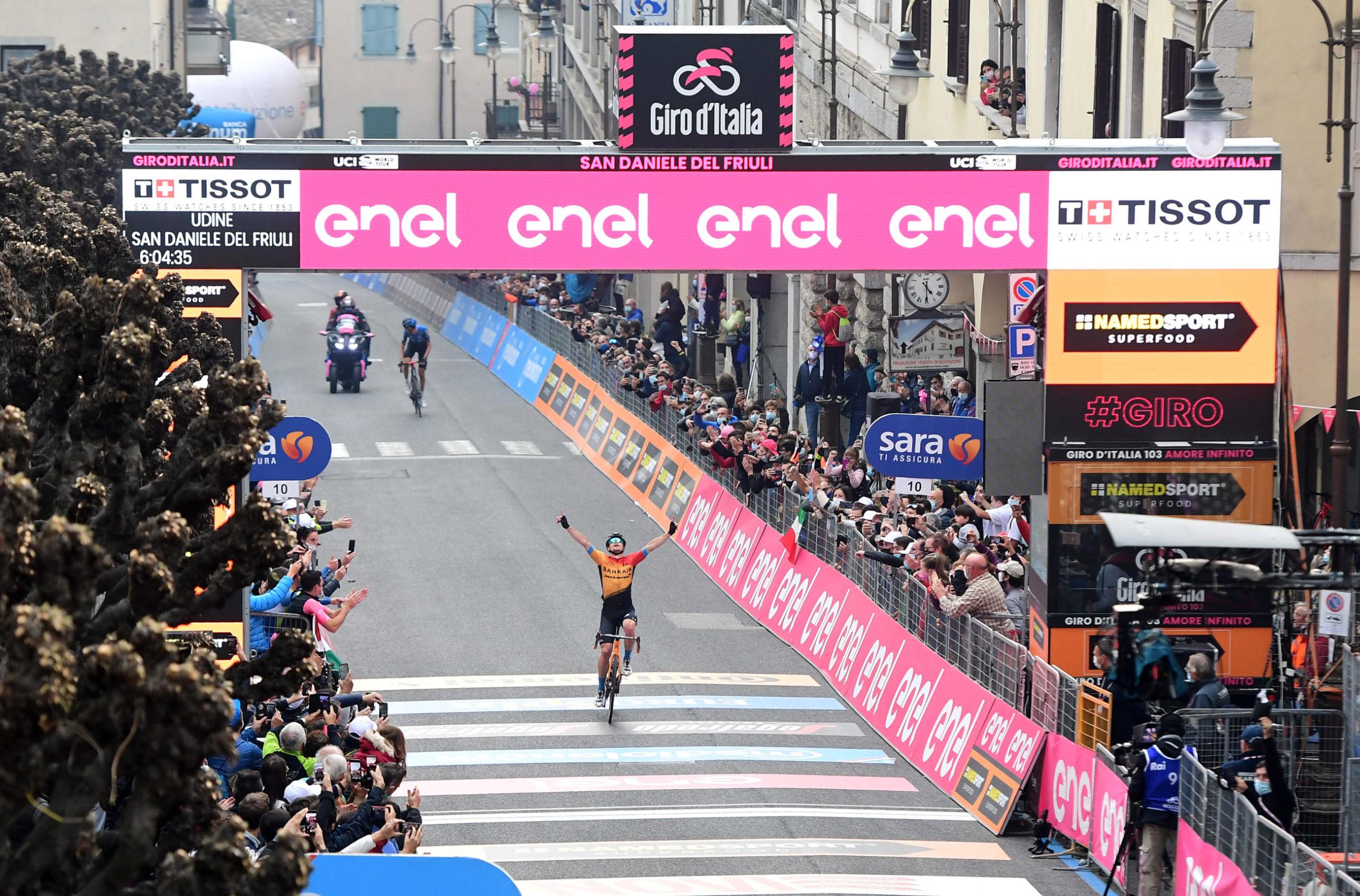 Tratnik sterkest på kupert Giro-etappe: – Kjæresten min ga meg nye krefter