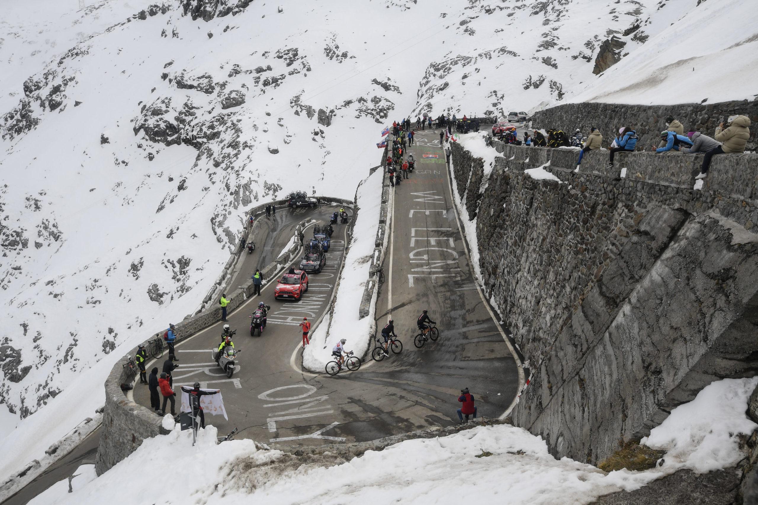 Giro-kaos da rytterprotest tvang arrangørene til å ta grep