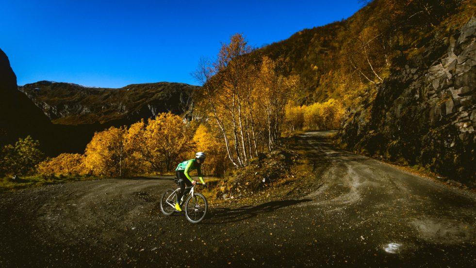 – Jeg vil bli Norges første profesjonelle grussyklist
