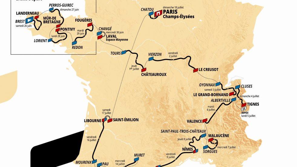 Tour de France 2021: Den store etappeguiden