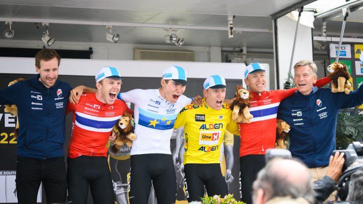 Historisk norsk uke i Tour de l'Avenir