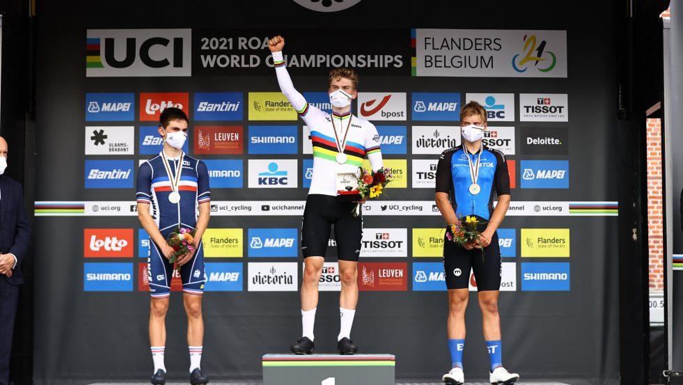 Per Strand Hagenes tok gull i junior-VM